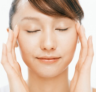 Lymph-face-massage
